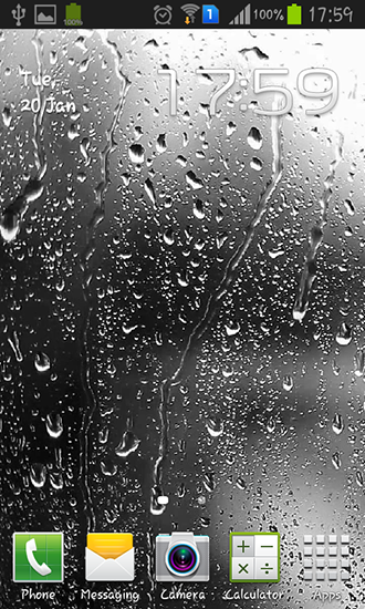 Download livewallpaper Raindrops for Android. Get full version of Android apk livewallpaper Raindrops for tablet and phone.