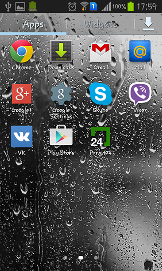 Download Raindrops - livewallpaper for Android. Raindrops apk - free download.