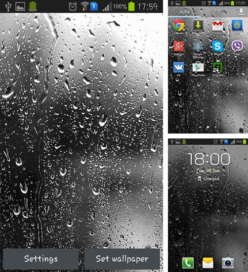 In addition to live wallpaper Windmill 3D for Android phones and tablets, you can also download Raindrops for free.