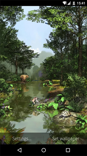 Screenshots von Rainforest 3D für Android-Tablet, Smartphone.
