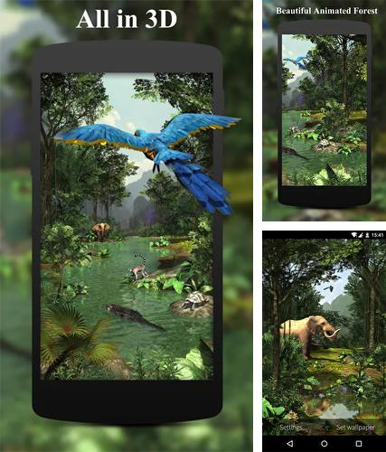 Download live wallpaper Rainforest 3D for Android. Get full version of Android apk livewallpaper Rainforest 3D for tablet and phone.