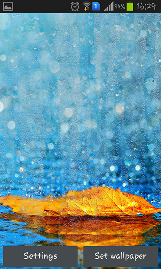Download livewallpaper Rainy autumn for Android. Get full version of Android apk livewallpaper Rainy autumn for tablet and phone.