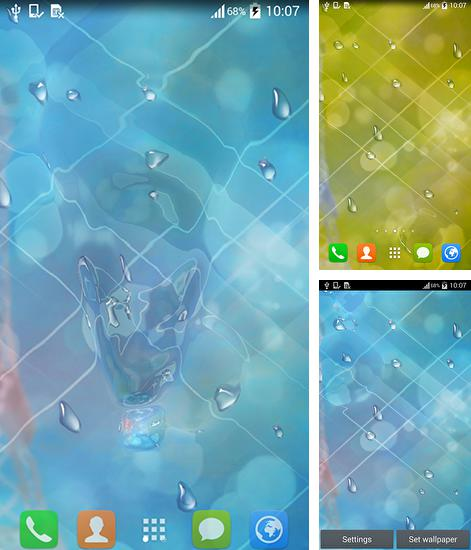 In addition to live wallpaper Mermaid for Android phones and tablets, you can also download Rainy day for free.