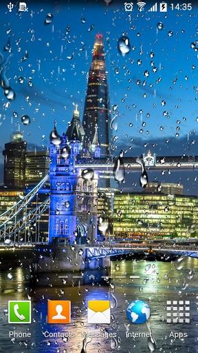 Rainy London live wallpaper for Android. Rainy London free ...