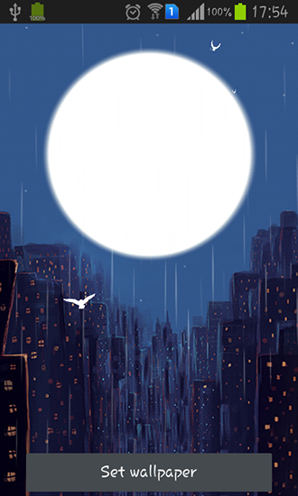 Download Rainy night - livewallpaper for Android. Rainy night apk - free download.