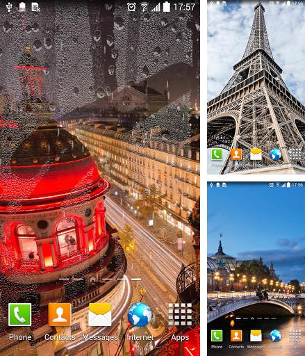 Download live wallpaper Rainy Paris for Android. Get full version of Android apk livewallpaper Rainy Paris for tablet and phone.