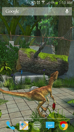 Screenshots of the Raptor for Android tablet, phone.