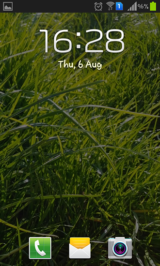 Screenshots of the Real grass for Android tablet, phone.