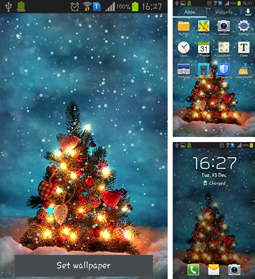 In addition to live wallpaper Magic by Art LWP for Android phones and tablets, you can also download Real snow for free.