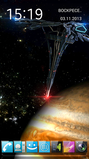 Screenshots of the Real space 3D for Android tablet, phone.