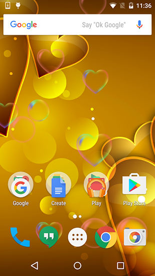 Download Red and gold love - livewallpaper for Android. Red and gold love apk - free download.