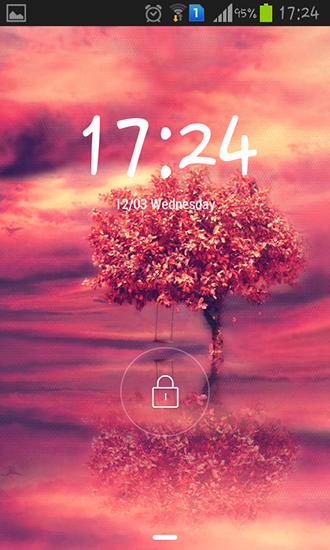 Screenshots of the Red tree for Android tablet, phone.