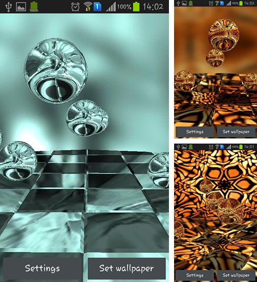In addition to live wallpaper Leaves 3D for Android phones and tablets, you can also download Reflections for free.