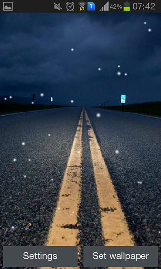 Download Road night HD - livewallpaper for Android. Road night HD apk - free download.