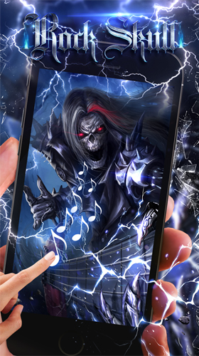 Download Rock skull - livewallpaper for Android. Rock skull apk - free download.