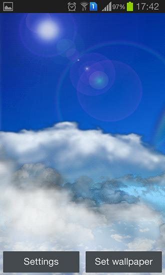 Rolling clouds pour android t l charger gratuitement for Fond ecran tablette android gratuit