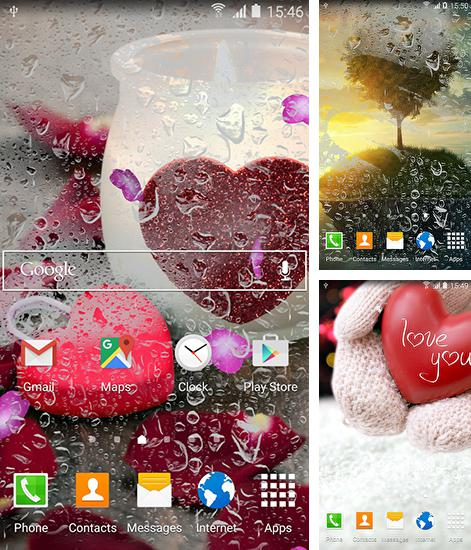 In addition to live wallpaper Night city by Amax LWPS for Android phones and tablets, you can also download Romantic by Blackbird wallpapers for free.