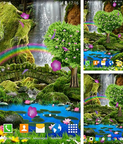 Download live wallpaper Romantic waterfall 3D for Android. Get full version of Android apk livewallpaper Romantic waterfall 3D for tablet and phone.