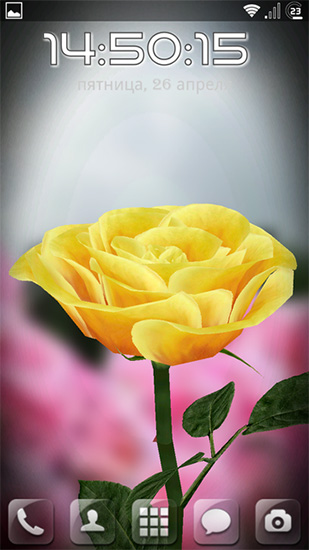 Rose 3d Live Wallpaper For Android Rose 3d Free Download For Tablet