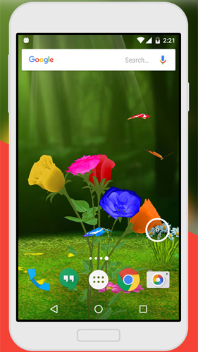 Rose 3D by Live Wallpaper