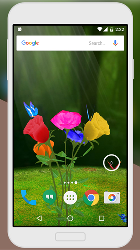 Rose 3D by Live Wallpaper für Android spielen. Live Wallpaper Rose 3D kostenloser Download.