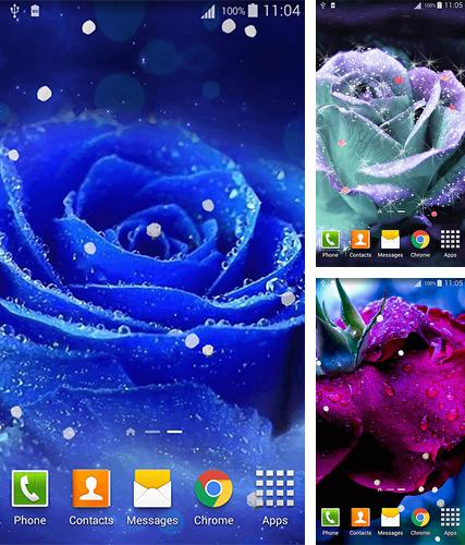 Rose 3D by Lux Live Wallpapers