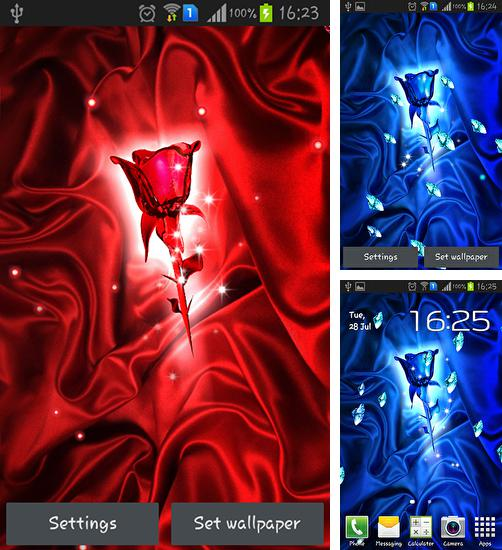 In addition to Rose crystal live wallpapers for Android, you can download other free Android live wallpapers for Bluboo Maya.