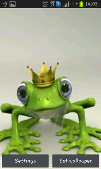 Download Royal frog - livewallpaper for Android. Royal frog apk - free download.