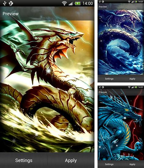 In addition to live wallpaper Snake HD for Android phones and tablets, you can also download Ryujin for free.