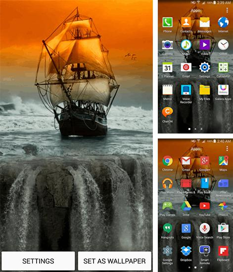 In addition to Sailboat live wallpapers for Android, you can download other free Android live wallpapers for ZTE Kis3 max.