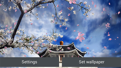 Download Sakura garden - livewallpaper for Android. Sakura garden apk - free download.