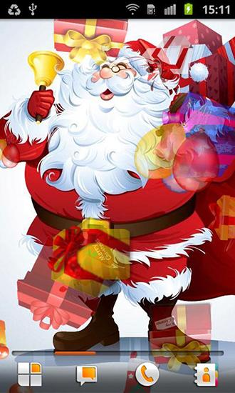Santa Claus live wallpaper for Android  Santa Claus free