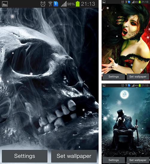 In addition to live wallpaper Plasticine aquarium for Android phones and tablets, you can also download Scary for free.