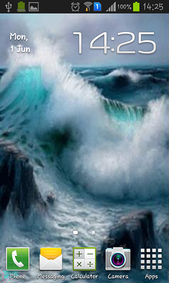 Sea Waves Live Wallpaper For Android Sea Waves Free Download For