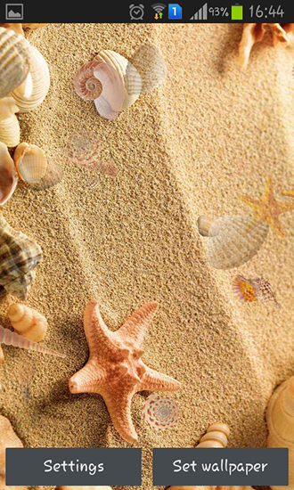 Download Seashell - livewallpaper for Android. Seashell apk - free download.