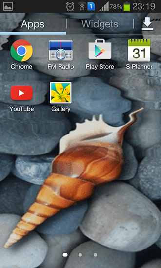Download Seashell by Memory lane - livewallpaper for Android. Seashell by Memory lane apk - free download.