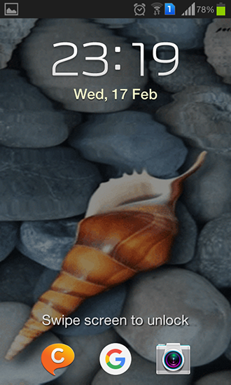 Screenshots of the Seashell by Memory lane for Android tablet, phone.