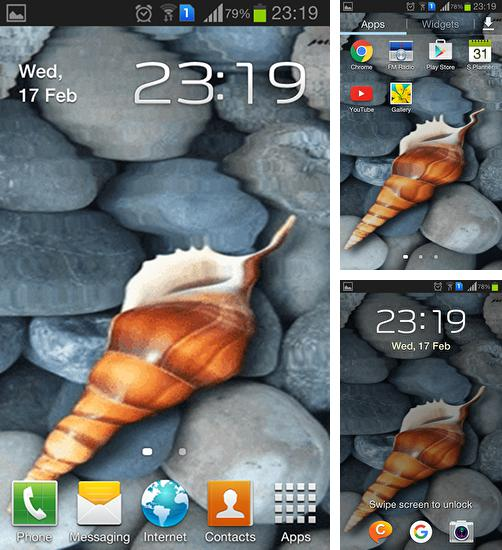 In addition to live wallpaper DNA for Android phones and tablets, you can also download Seashell by Memory lane for free.