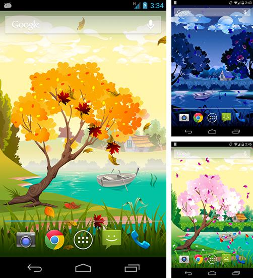 In addition to live wallpaper Stickman for Android phones and tablets, you can also download Seasons for free.