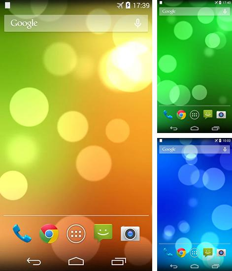 In addition to live wallpaper Waves on rocks for Android phones and tablets, you can also download Sense for free.