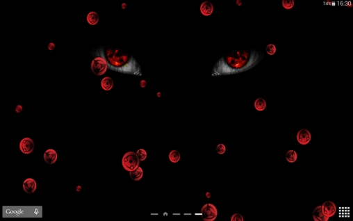 Sharingan live wallpaper for Android. Sharingan free download for tablet and phone.