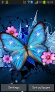 Shiny butterfly - download free live wallpapers for Android. Shiny butterfly full Android apk version for tablets and phones.