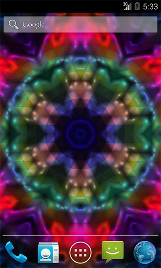 Screenshots of the Shiny сolor for Android tablet, phone.