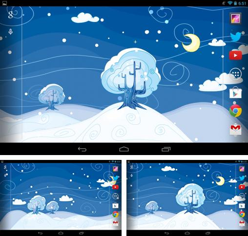 In addition to live wallpaper Multicolor for Android phones and tablets, you can also download Siberian night for free.