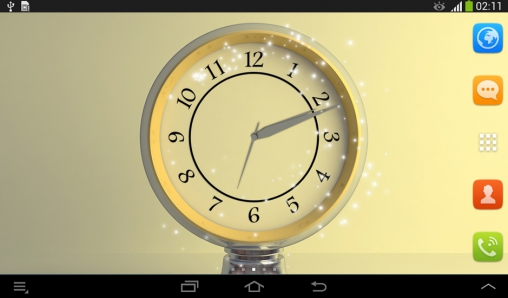 Download livewallpaper Silver clock for Android. Get full version of Android apk livewallpaper Silver clock for tablet and phone.