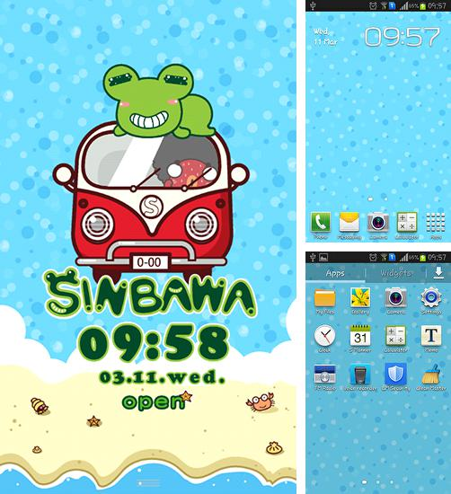 In addition to live wallpaper Sunny forest for Android phones and tablets, you can also download Sinbawa to the beach for free.