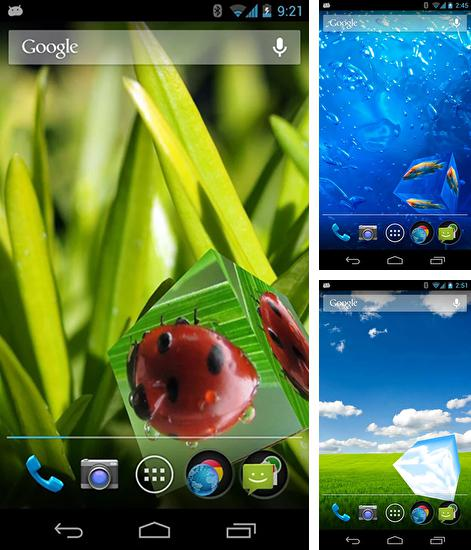 In addition to live wallpaper Happy Thanksgiving for Android phones and tablets, you can also download Smart cube for free.