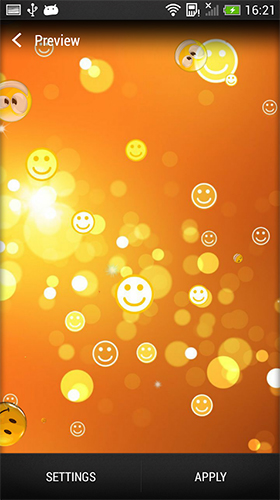 Download Smiley - livewallpaper for Android. Smiley apk - free download.