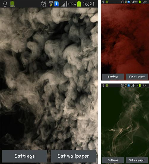 In addition to live wallpaper River by Wallpaper art for Android phones and tablets, you can also download Smoke for free.