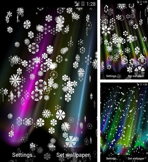 In addition to live wallpaper Christmas snow by live wallpaper HongKong for Android phones and tablets, you can also download Snow 3D for free.